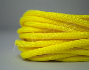 Nylon Soft 4mm Neon Yellow - oplot / peszel nylonowy
