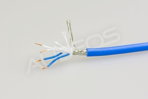 Canare Starquad l-4e5c blue - kabel mikrofonowy